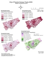 spatial databases and digital cartography