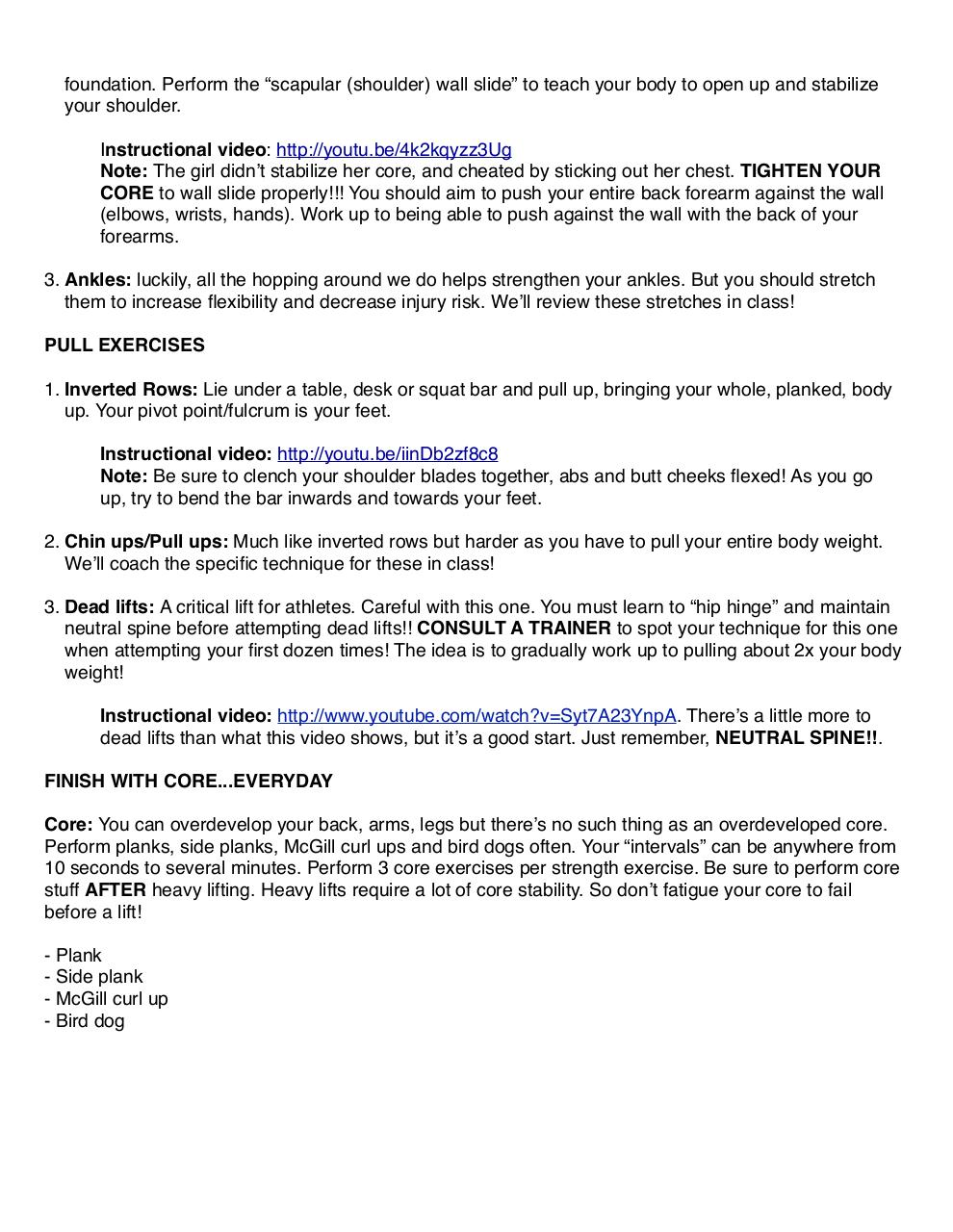 Document preview Muay Thai - Off Day Training Guide.pdf - page 2/2