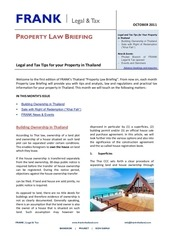 property law briefing oct 2012