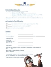 dpcf payroll deduct form