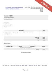 PDF Document invoice 1692