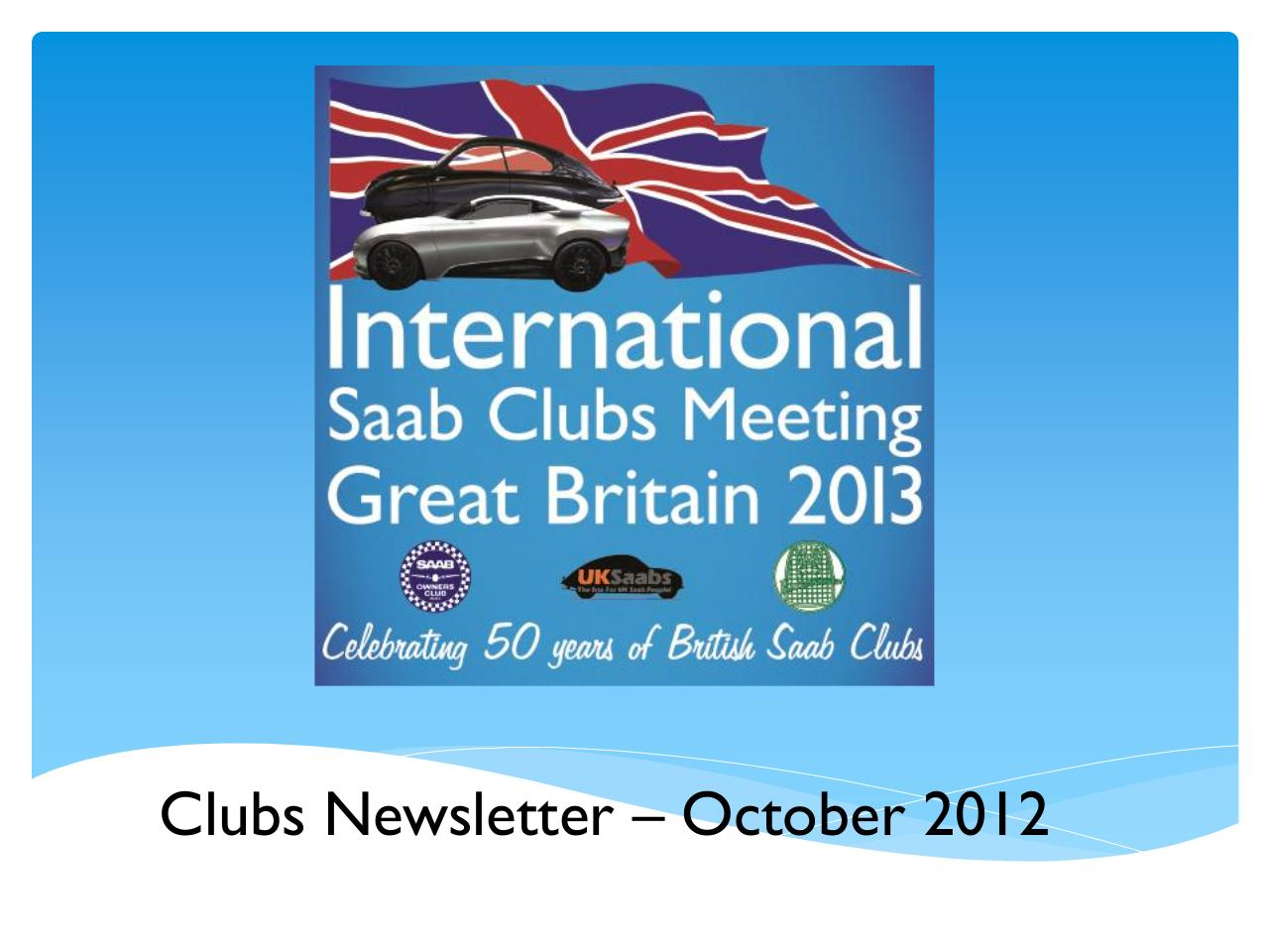 Clubs Newsletter Oct 2012.pdf - page 1/7