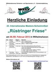 einladung und ausschreibung r stringer friese 2013