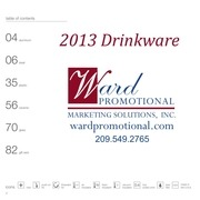 ward drinkware catalog
