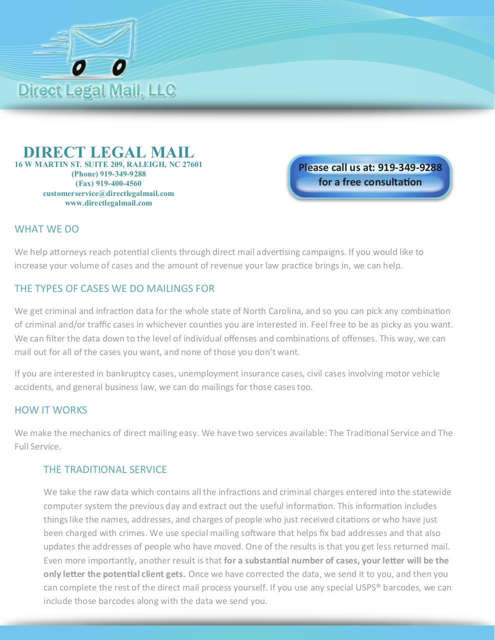 Document preview Direct Legal Mail Advertisement.pdf - page 1/2