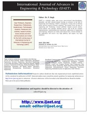 PDF Document ijaet flyer 2013