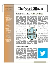 word slinger issue 1