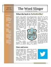 word slinger issue 1