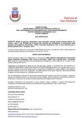 PDF Document microsoft word bando per affidamento in concessione teatro g villa