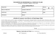 modulo iscrizione santiago club