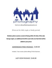 portrait package pricing