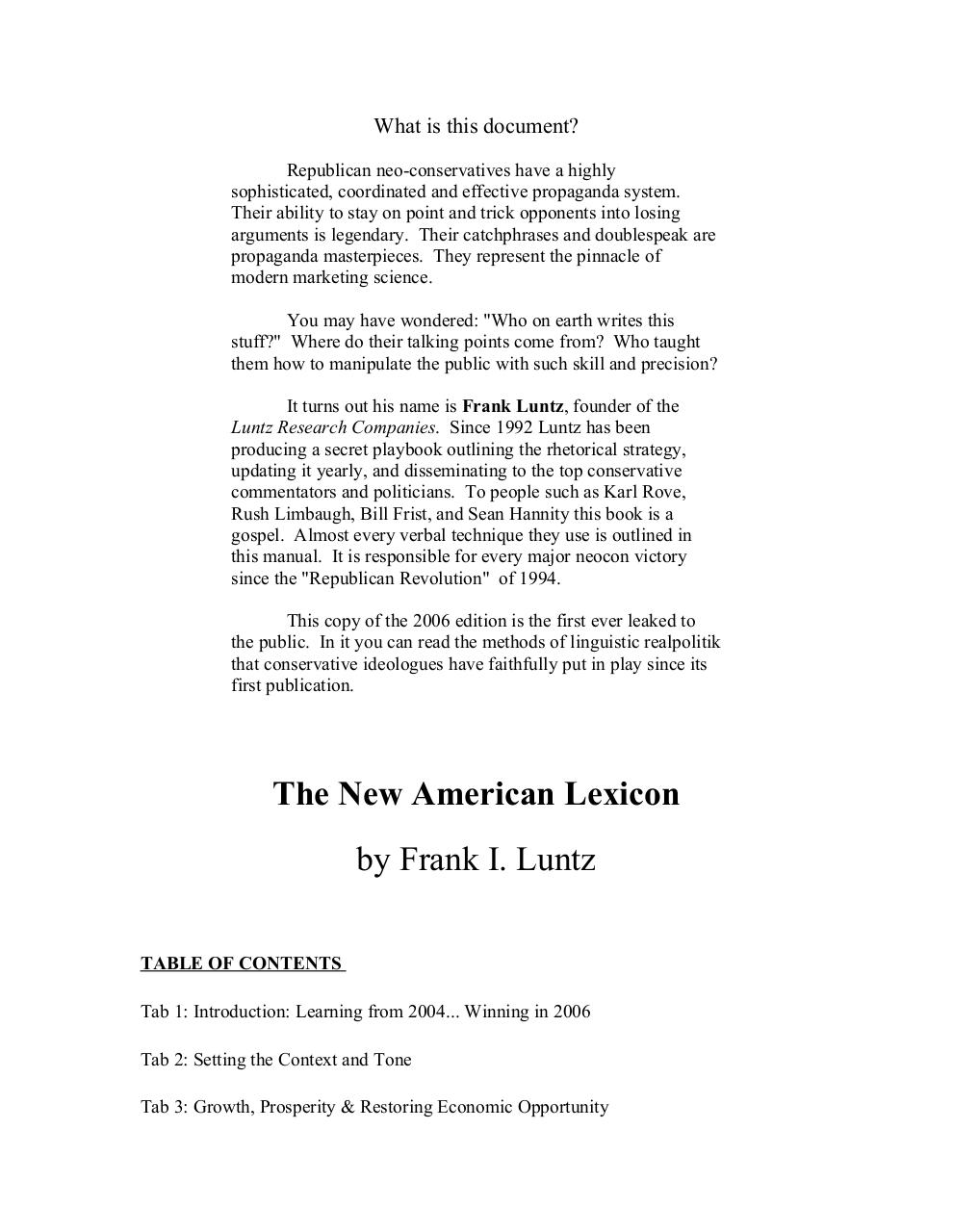 70467439-Leaked-Luntz-Republican-Playbook.pdf - page 1/135