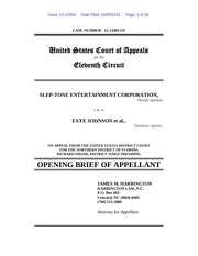 opening 11th circuit brief
