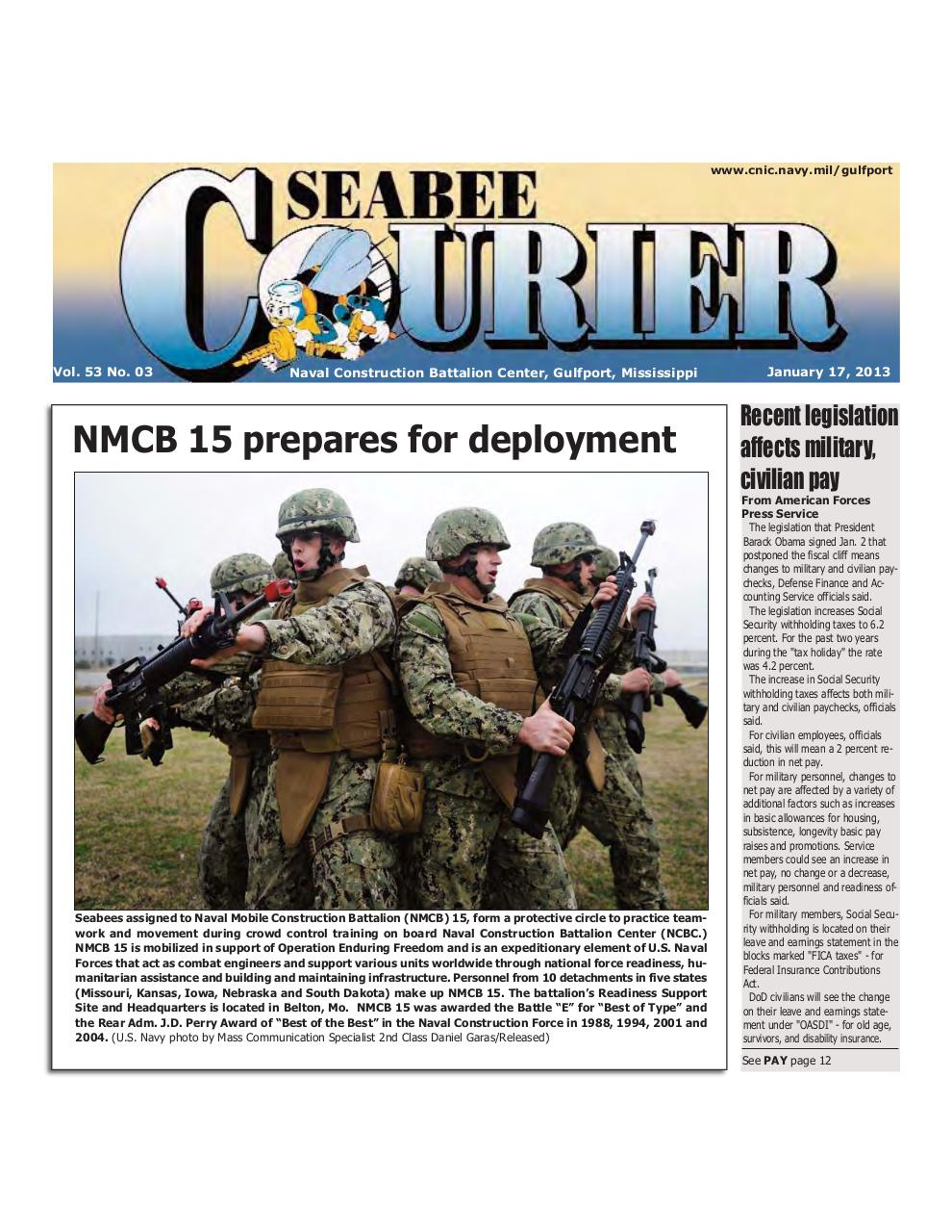 Preview of PDF document seabee-courier-1-17-2013.pdf