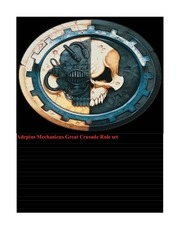 PDF Document great crusade adeptus mechanicus rule set 3