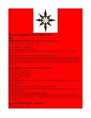 great crusade chaos rule set 2 6