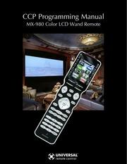 mx 980 ccp programming manual