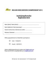 belgian sidecarcross championship 2013