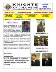council newsletter february 2013