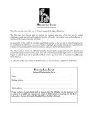 PDF Document hibernian law journal subscription form 2013