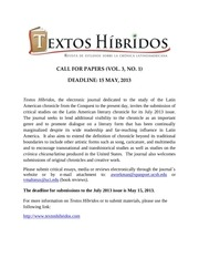 th 3 1 call for papers