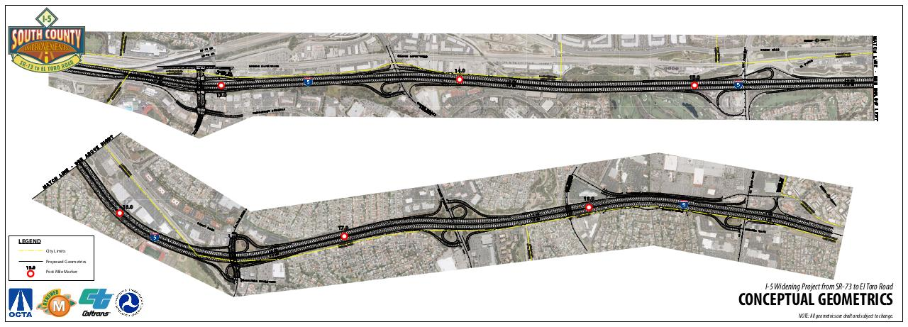 Document preview I-5 Widening SR73 to El Toro_Concept Geometrics.pdf - page 1/1