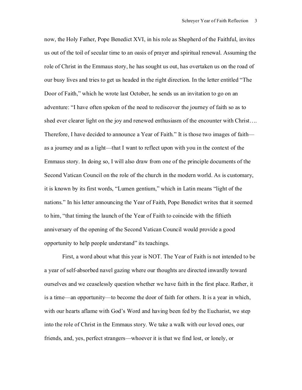 Schreyer Year of Faith  Reflection.pdf - page 3/11