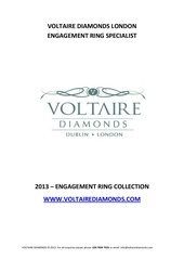 voltaire diamonds london engagement ring catalogue