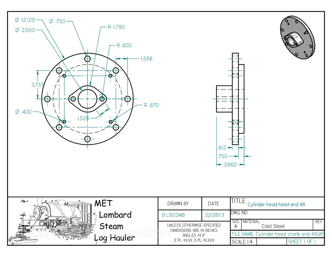 Document preview Cylinder head crank end 48.pdf - page 1/1