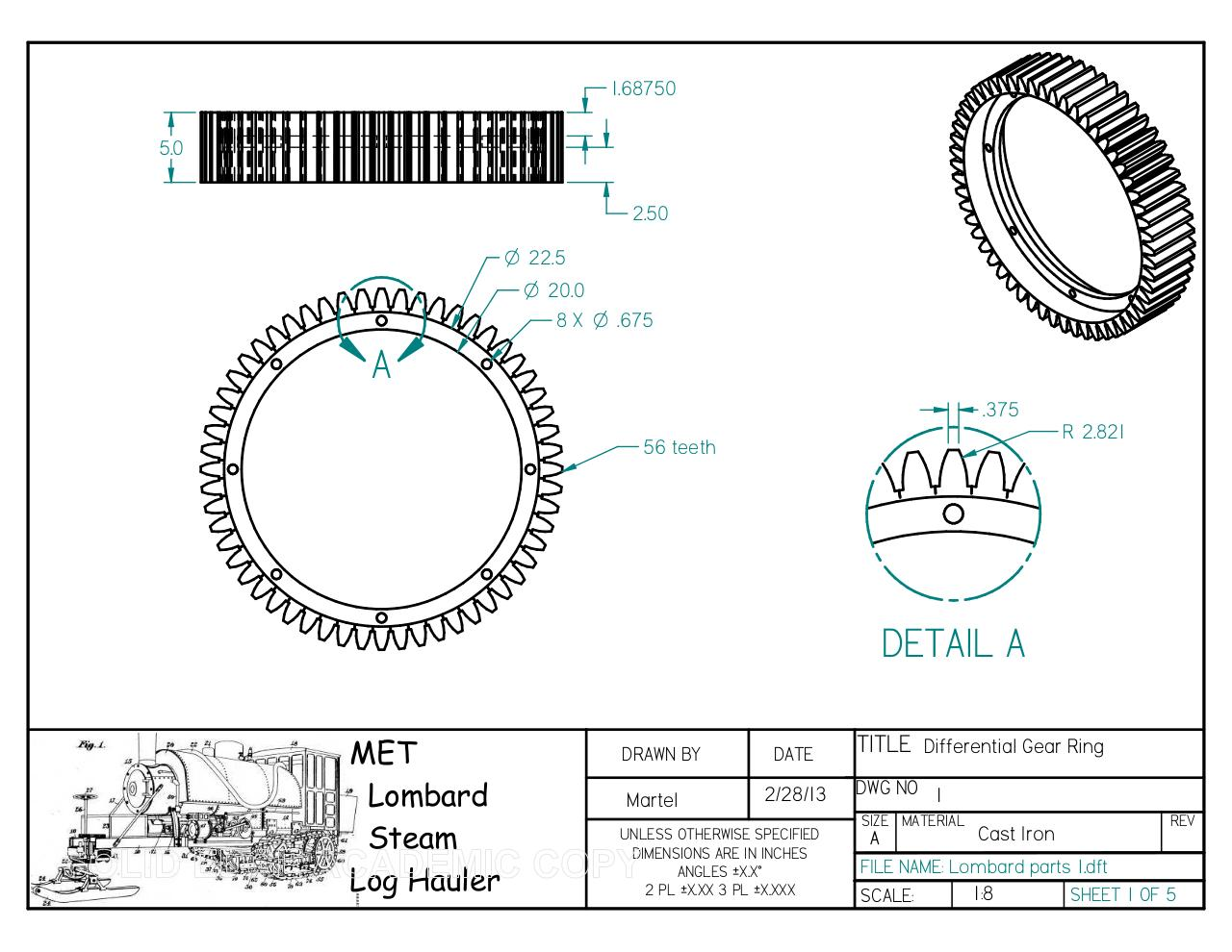 Document preview differential gear ring.pdf - page 1/1