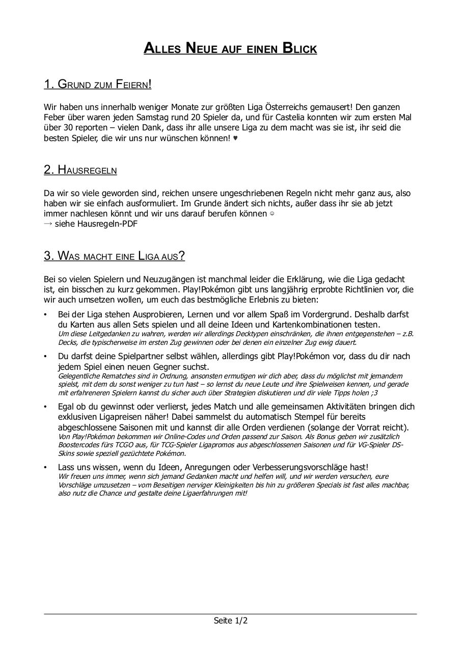 Document preview Neuerungen März 2013.pdf - page 1/2