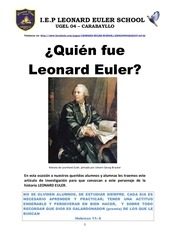 quien fue leonard euler