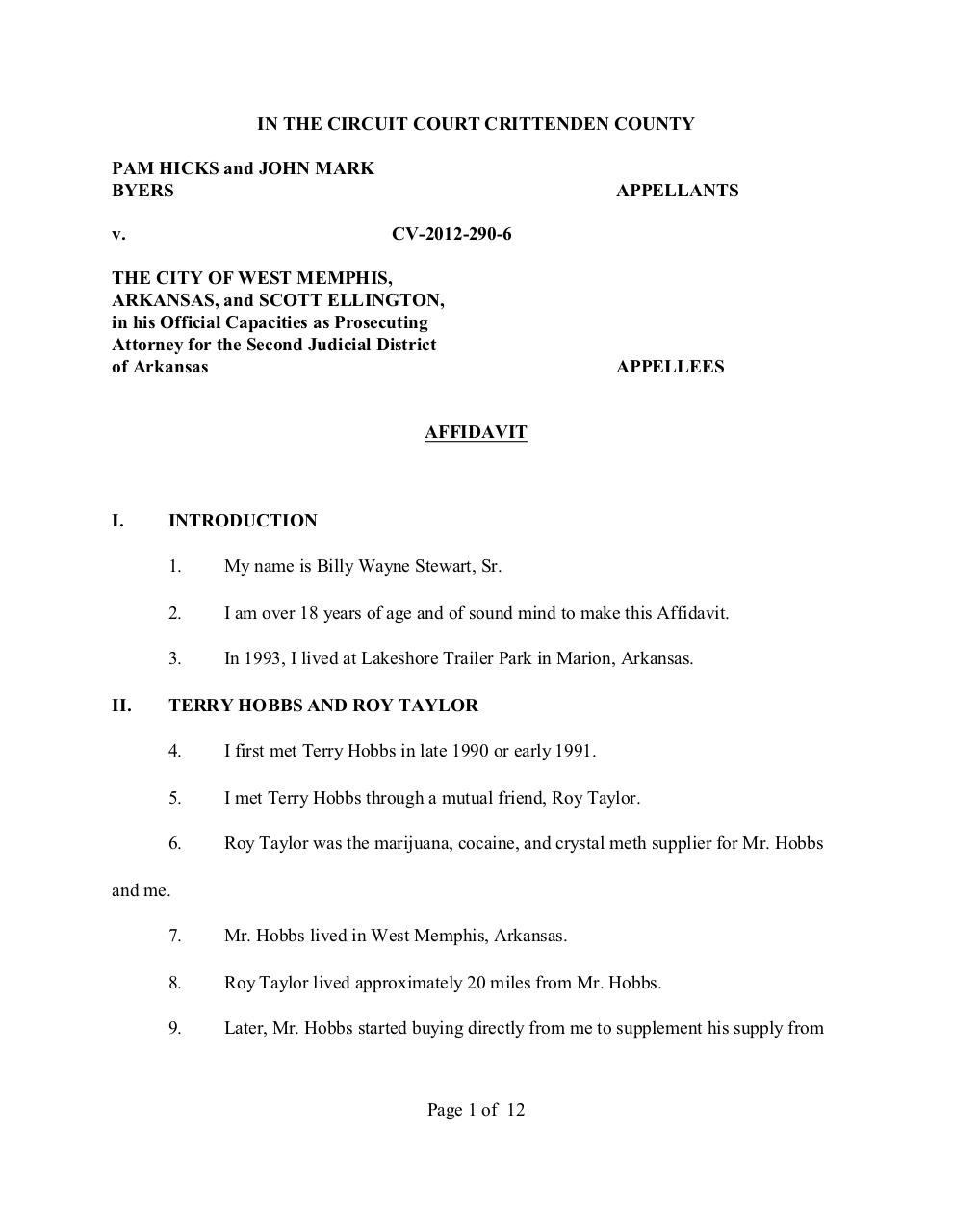 Affidavit of BS.pdf - page 1/12
