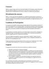 reglement concours fb df fr avril 2013