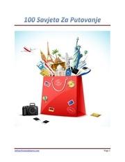 100savjetazaputovanjepdf