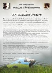 locandina costellazioni oniriche a3