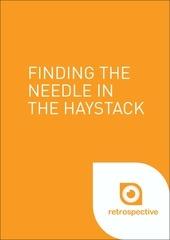 retrospective needle in a haystack