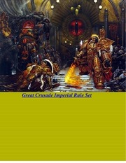 great crusade imperial rule set 5 8