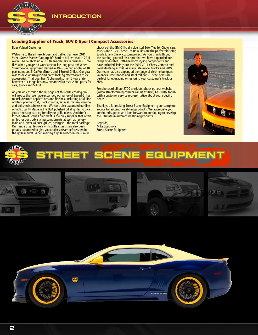 Street Scene 950-80745 Speed Grille Main Grille Insert