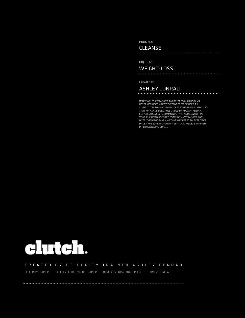 cleanse_clutch.pdf - page 1/13