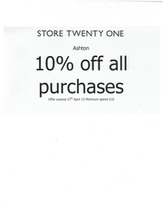 PDF Document 10 off store 21 this friday saturday