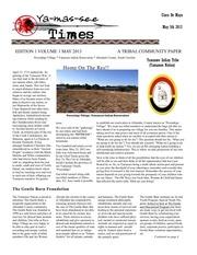 yamassee indian tribe news