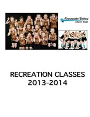 recreation info 2013 14