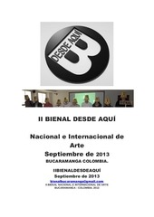 PDF Document convocatoria ii bienal desde aqui 2o13