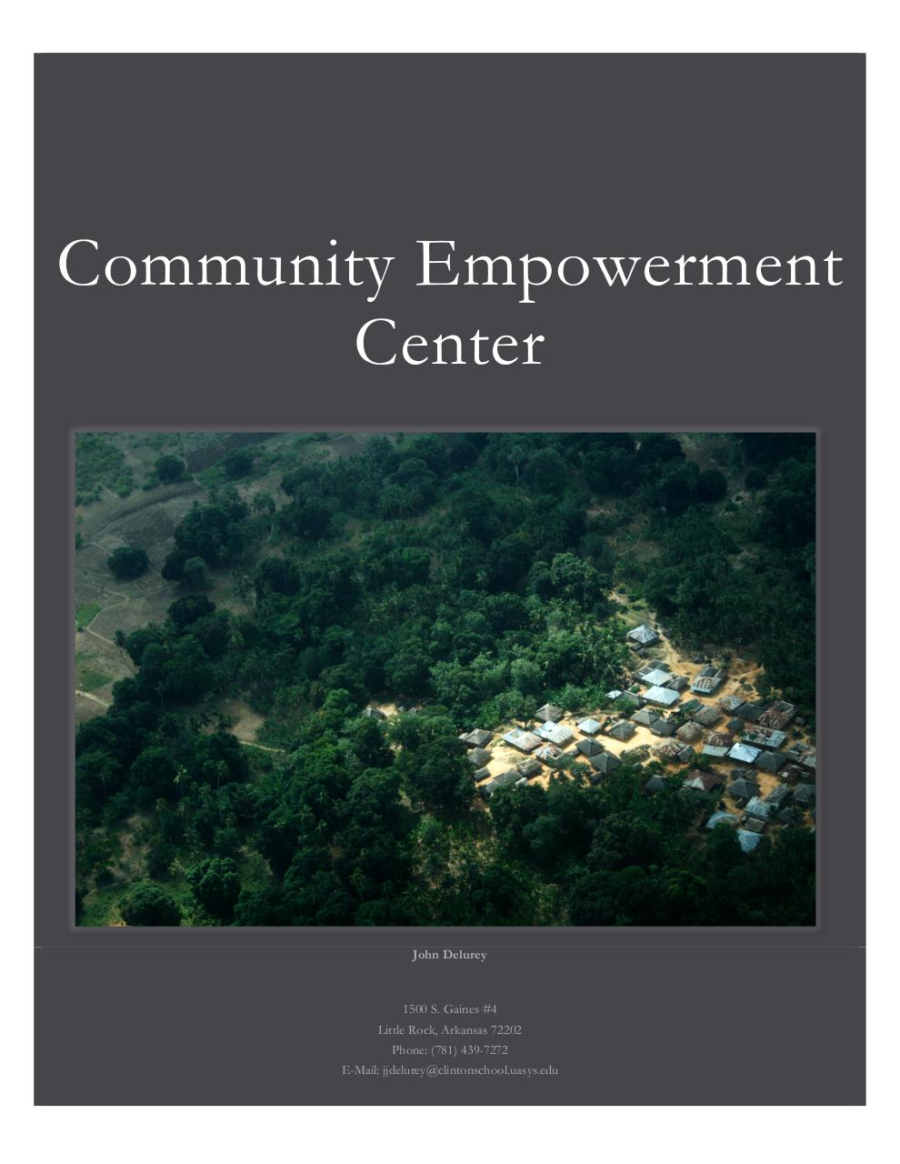 CGI U_Community Empowerment Center.pdf - page 1/4