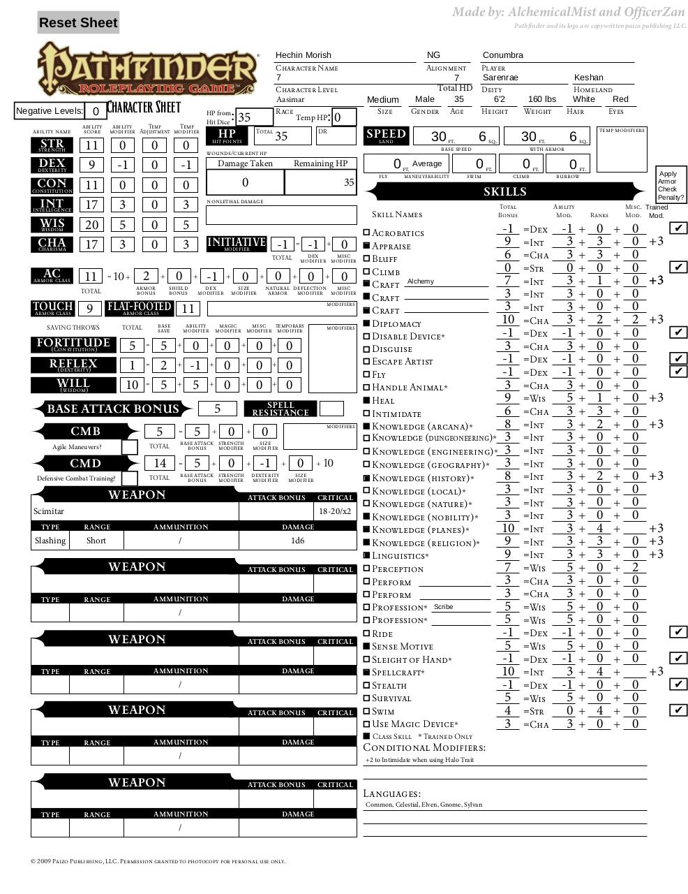 Pathfinder Character Sheet Paizo Pathfinderformfillable%28final%29 ...
