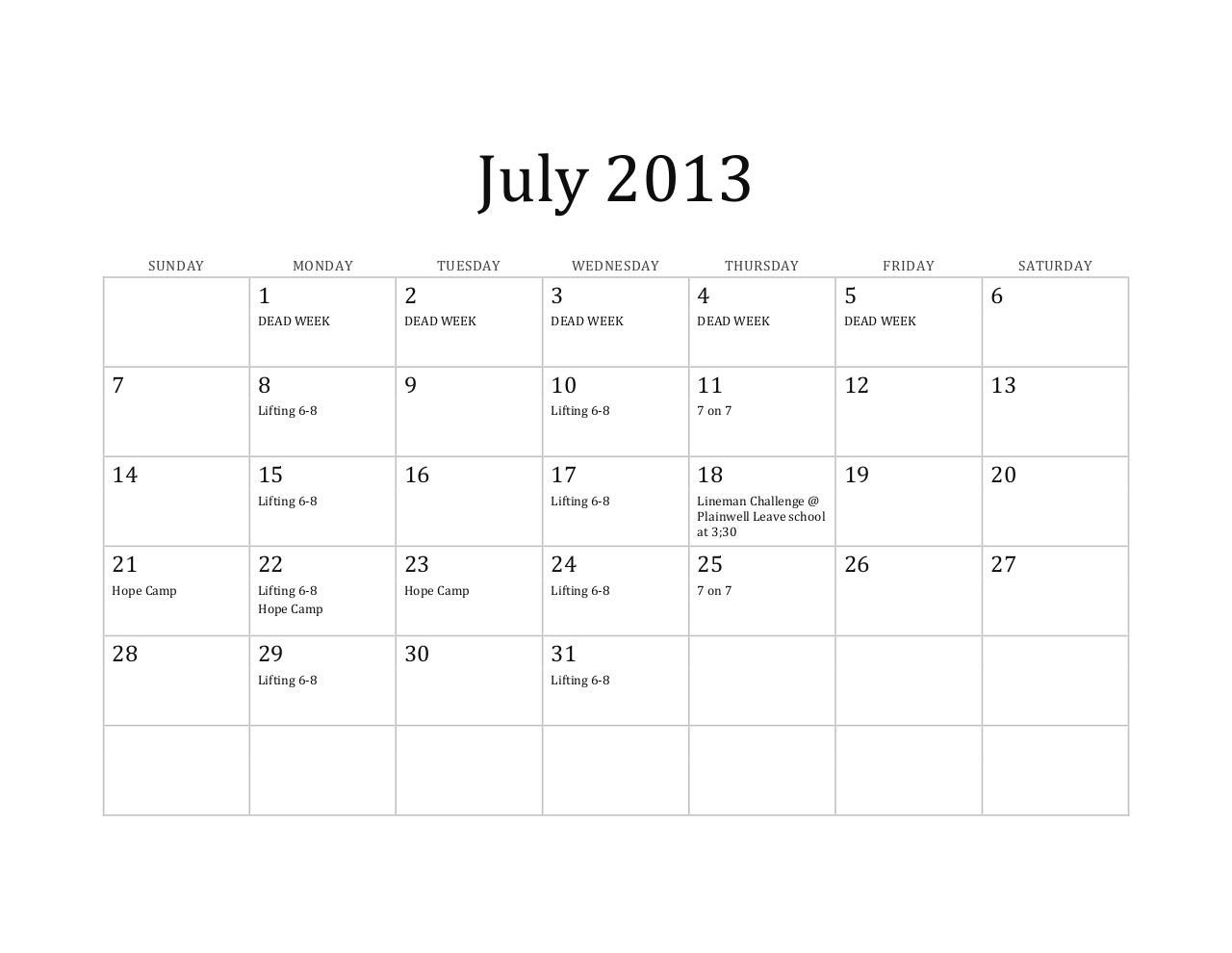 2013 Calendar for athletes Copy.pdf - page 2/6