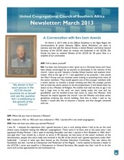 uccsa march 2013 newsletter