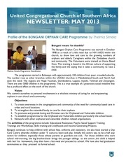uccsa newsletter may 2013