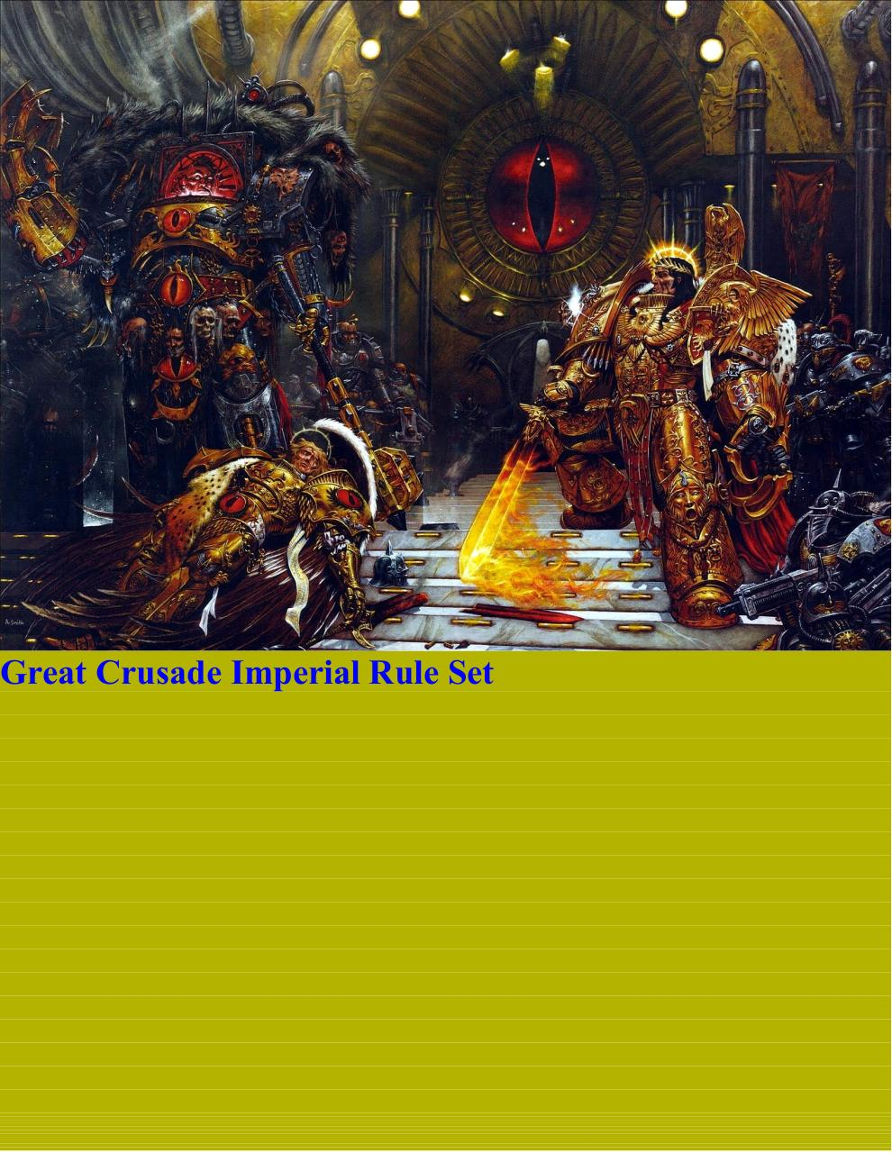 Great Crusade Imperial Rule set 6.0.pdf - page 1/426